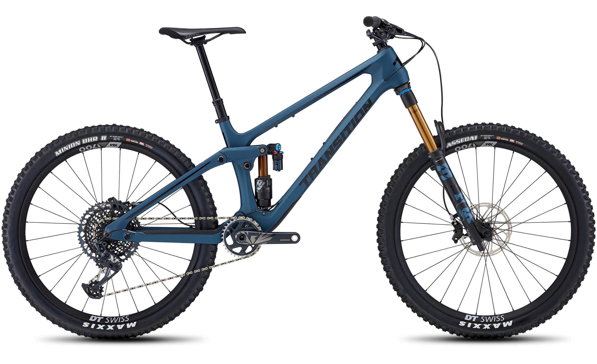 carbon fiber full suspension mountain bike