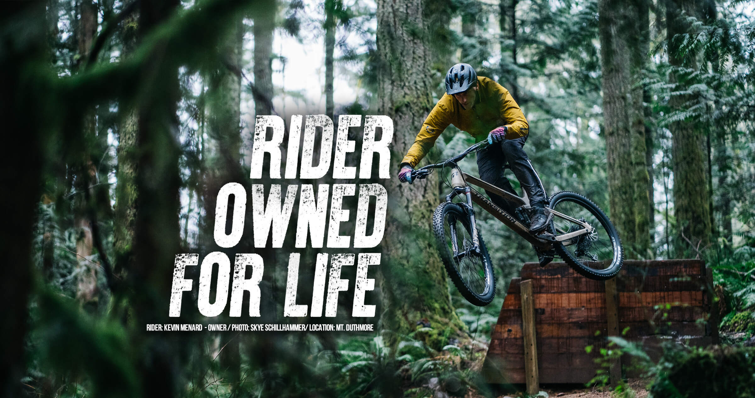 Rider Owned For Life